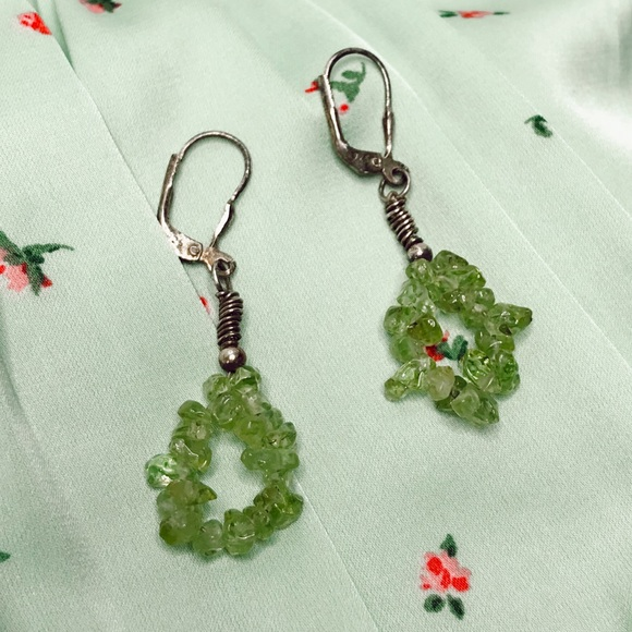 Jewelry - Handmade Peridot Earrings